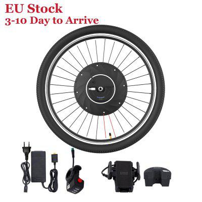 MTB Ebike Conversion Kit 36V Mountain Electric Bicycle 26 Inch Front Wheel with 240W Hub Motor Max Speed 26KM/H
