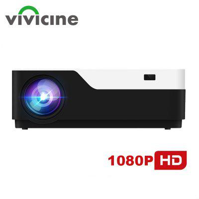 Vivicine M18 1920x1080 Real Full HD Projector WITH HDMI USB Support AC3