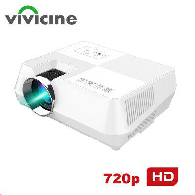 Vivicine 720P HD Projector Optional Android WIFI HDMI USB PC Mini LED Proyector for Video games