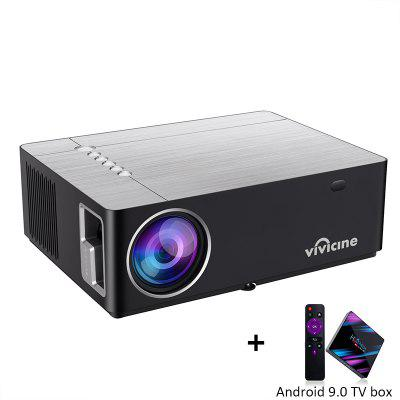 Vivicine M20 Newest 1080p Home Theater Projector Option Android 9. 0 Full HD LED Video Beamer