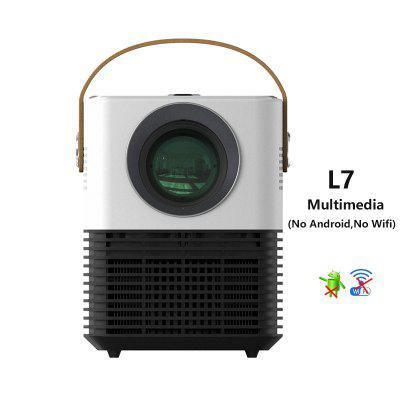 Vivicine L7 LED Mini Projector Pocket Home Theater Projector