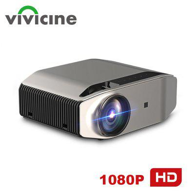Vivicine S5 Newest 1080p Projector Option Android 9.0 Full HD LED Home Theater Video Projector