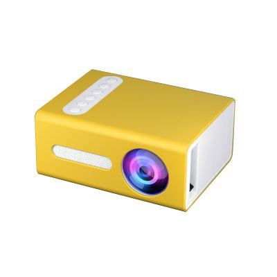 Фото - Vivicine T300 Upgraded New Cheap LED Mini Projector bilikay yg230 hd led portable mini projector video for home theater game movie cinema 1080p projector