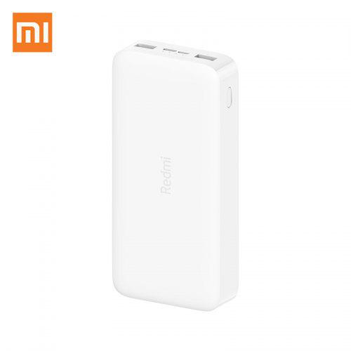 22.99 - Xiaomi Redmi Power Bank PB200LZM - 20000mAh - QC3.0 - USB Type C - White