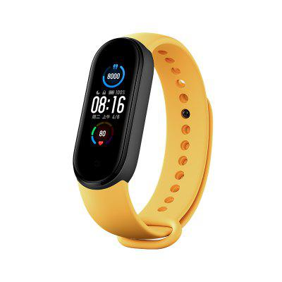 Original Xiaomi Replace Strap for Mi band 5 Skin Friendly Replacement Band Bracelet Mi Band 5 Strap