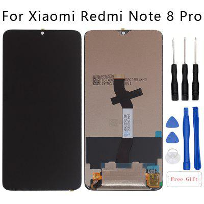 Display LCD originale per Xiaomi Redmi Note 8 Pro Touch - nero