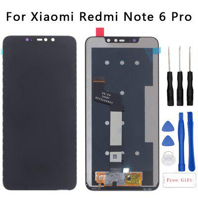 Xiaomi original 6.26-inch touch LCD is suitable for Redmi Note 6 Pro-black