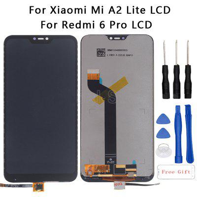 Xiaomi original 5.84-inch touch LCD is suitable for Redmi 6 Pro-black