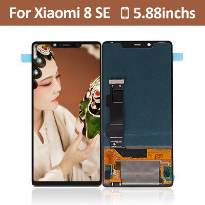 Display LCD touchscreen originale Xiaomi MI8 SE - nero