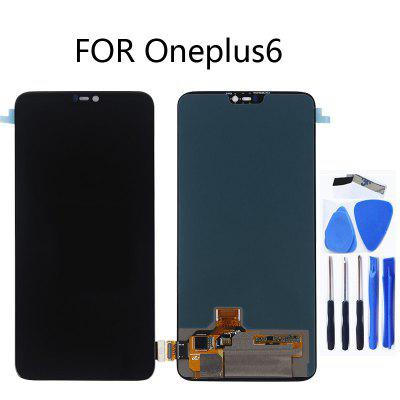 Original Oneplus touch LCD for Oneplus 6-Black