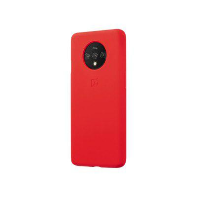 Capa protetora de silicone original Shell Soft Case Red For One plus 7T
