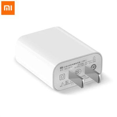 Original Xiaomi USB Output Fast Charger 18W Support IOS Samsung Huawei Smart Device - US