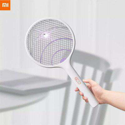 Xiaomi Qualitell Electric Mosquito Swatter Rechargeable Electric Mosquito Fly Killer Swatter Racket With USB From Xiaomi Youpin