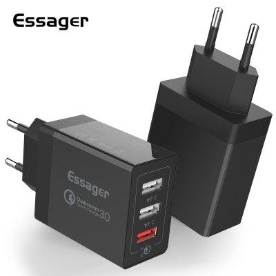 Essager 30W Quick Charge 3.0 USB Charger QC3.0 Fast Charging Mobile Phone Charger for iPhone Samsung