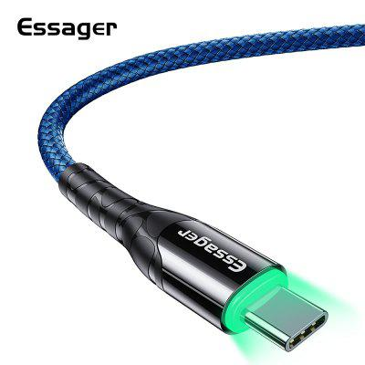 Essager Zinc Alloy Mobile Phone Cables USB C Cable Type C Cable 3m Fast Charge 3A for Samsung Huawei