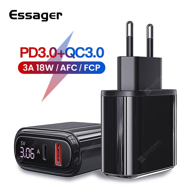 Essager Quick Charge 3.0 USB-C Charger 1