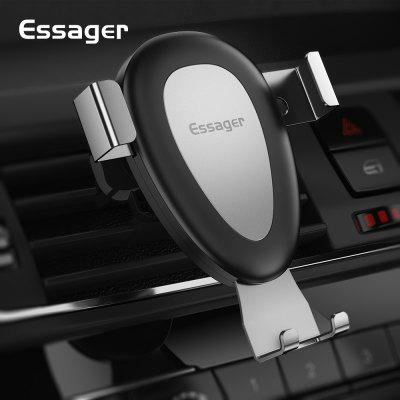 Essager Gravity Car Phone Holder For iPhone 11 Pro Xs Max Samsung Air Vent Mount Mobile Phone Holder