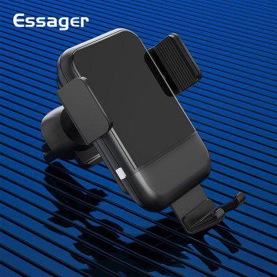 Essager Automatic Qi Car Wireless Charger For iPhone Samsung Xiaomi Note 10 Car Phone Holder