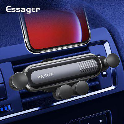 Essager Gravity Car Phone Holder for Xiaomi Note 10 pro mi 9 9T Air Vent Car Mount Holder Stand