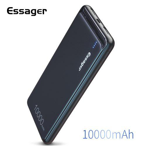Essager 10000mAh Power Bank Portable Charging External Battery Charger Pack For Xiaomi iPhone