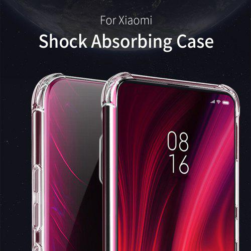 Essager Anti-fall Mobile Phone Case TPU Soft Silicone Shock-absorbing For Xiaomi 9T Pro Phone Case