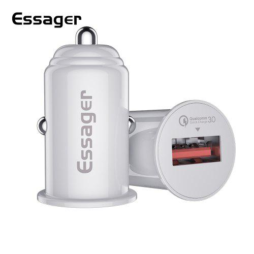 Essager Mini USB Car Charger Quick Charge 3.0 Car Phone Charger for Xiaomi Samsung iPhone