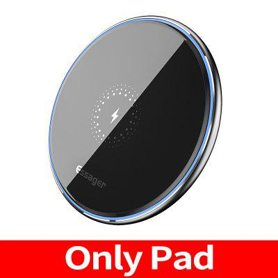 Essager 10W Qi Fast Wireless Charger Quick Induction Wireless Charging Pad For Samsung S10 note10