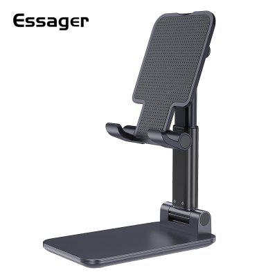 Essager Mobile Phone Holder Stand Adjustable Metal Desk Desktop Tablet Universal Cell Phone Holder