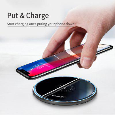 Essager 10W Qi Fast Wireless Charger with Cable at Only $6.99 for Wireless Charging & a More Convenient Life!