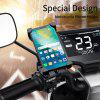 Essager Motorcycle Phone Holder For Huawei Mobile Phone Stand Handlebar Clip Moto Mount Bracket