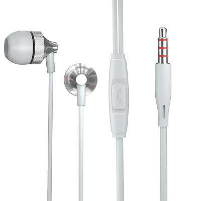 Essager Wired Earphone For iPhone Samsung Xiaomi Phone 3.5mm Jack In Ear Headset With Mic