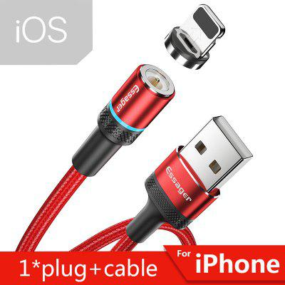 Essager Magnetic Charger Micro USB Cable for iPhone Xiaomi  Mobile Phone Fast Charging Type C Cable