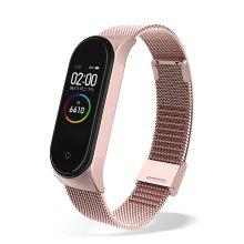 Essager Plating Metal Strap For Xiaomi Mi Band 3 4 Wristband Wrist Bracelet For Band4 Band3