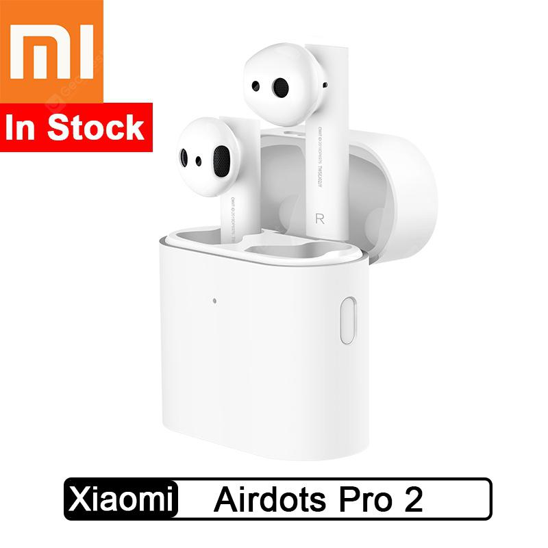 Xiaomi Airdots Pro 2 Bluetooth Earphone TWS Wireless Headset Air 2 - White Original - Airdots pro 2 China