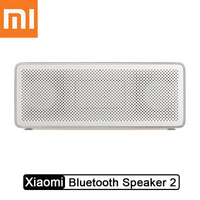 Xiaomi XMYX03YM Mi Bluetooth Speaker Square 2 High Definition Stereo Portable Bluetooth 4.2 White
