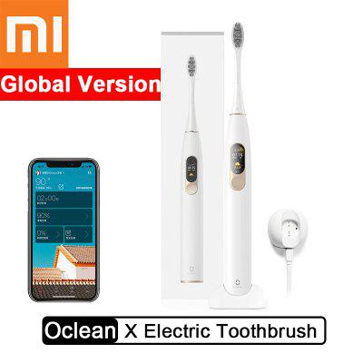 Xiaomi Oclean X Smart Electric Toothbrush Color Touch Screen Sonic App Control