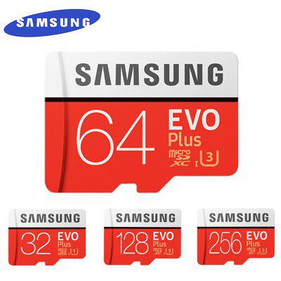 Original Samsung 32G 64G 128G 256G EVO Plus Memory Card  Class 10 Micro SD TF Cards