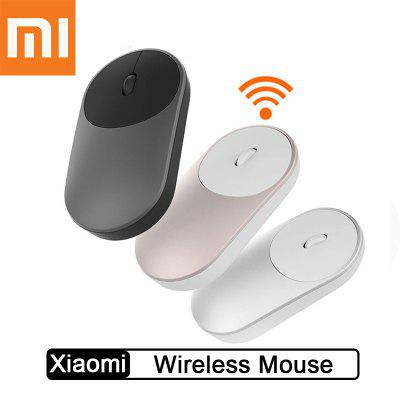 Original Xiaomi Mouse Portable Wireless Bluetooth 4.0 2.4GHz Dual Mode Connect for Laptop PC