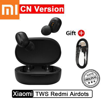 Original Xiaomi TWS Redmi Airdots Earphone Voice Control Wireless Headset