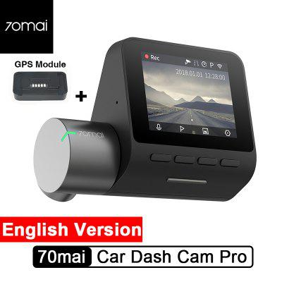 70mai Car Dash Cam Pro 1944P GPS Voice Control Night Vision Wifi-Xiaomi Ecosystem Product Image