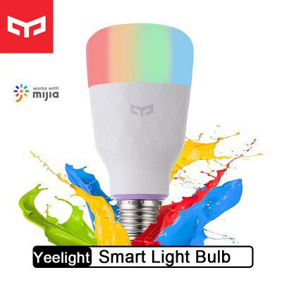 Xiaomi Yeelight Smart LED Ampoule Colorée Smart Lamp pour Mi Home App Blanc RVB pour Option