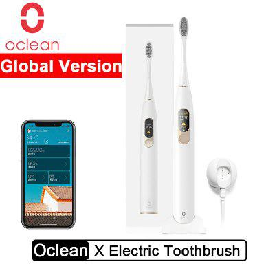 Oclean X Smart Electric Toothbrush Color Touch Screen Sonic App Control from Xiaomi youpin