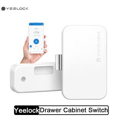 YEELOCK Smart Drawer Cabinet Lock Bluetooth APP Unlock Anti-Theft from Xiaomi youpin