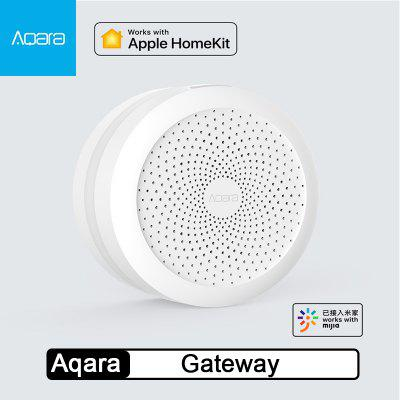 Aqara Hub Gateway with RGB Led night light Smart work with Mi home App-Xiaomi Ecosystem Product