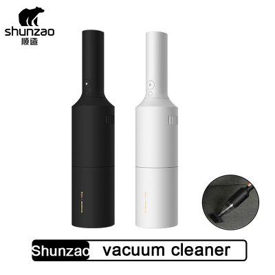 Shunzao Car Vacuum Cleaner Wireless Mini Portable Dust Handheld Cleaner from Xiaomi youpin