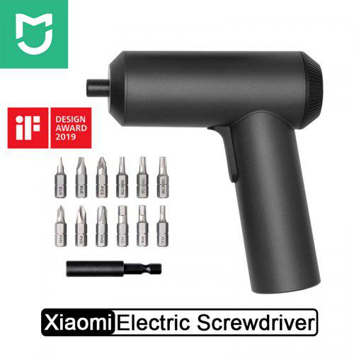 Xiaomi Mijia Electric Screwdriver With 12Pcs S2 Screw Bits Rechargeable Cordless Screw driver