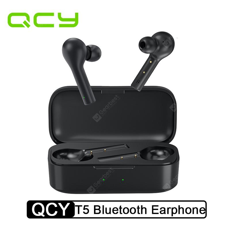 QCY T5 True Wireless Earphones Sports Headphones Stereo Sound Headset-Xiaomi Ecosystem Product