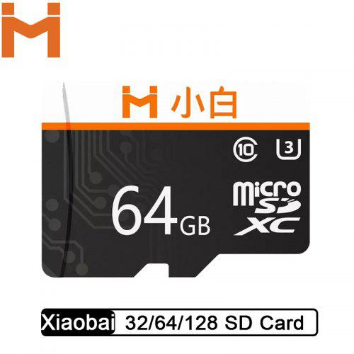 Xiaobai Micro SD Memory Card Large Capacity High Speed Transmission HD Video from Xiaomi Youpin
