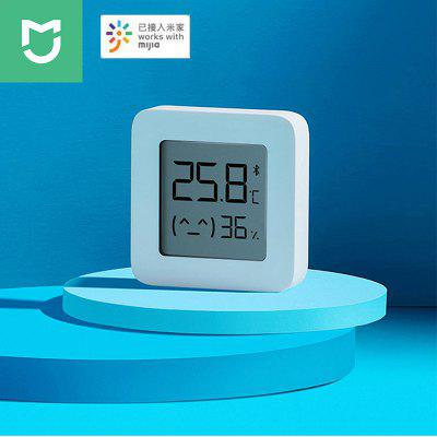 XIAOMI Mijia Bluetooth Thermometer 2 Wireless Smart Electric LCD Digital Hygrometer-white