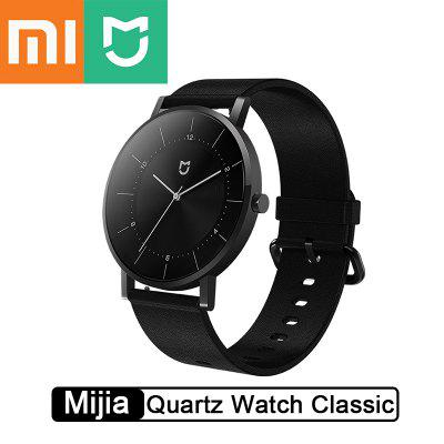 Xiaomi Mijia Quartz Watch Classic Edition 3ATM Waterproof CD Pattern Design 316L Stainless Steel